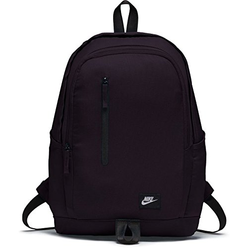 Nike All Access Soleday Bkpk S Mochila, Unisex Adulto, Rojo (Port Wine) / Negro / Blanco, Talla Única