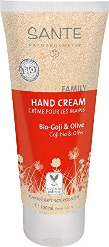 SANTE Naturkosmetik Handcreme Bio-Goji & Olive, 1er Pack (1 x 100ml)