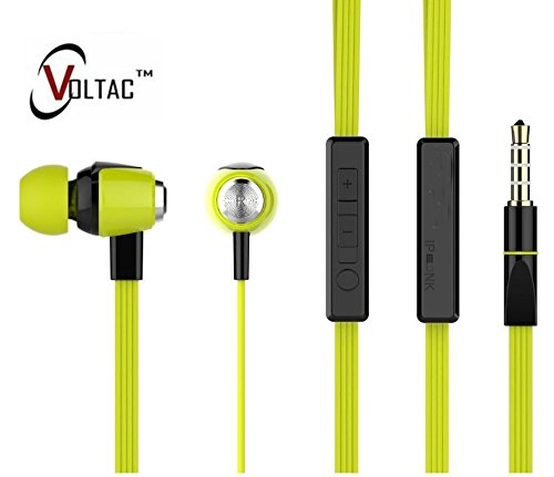 VOLTAC` ™ Ear Headphone with Mic (Multi-color)