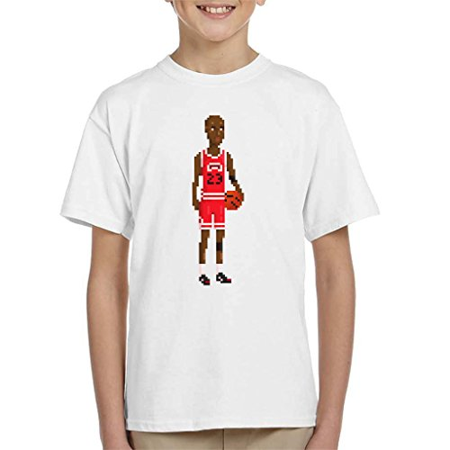 Michael Jordan Body Pixel Kid's T-Shirt (Space Jam Kids 11)