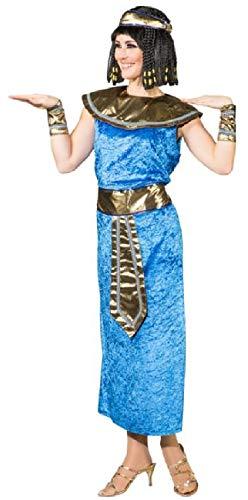 narrenkiste O9192-40-A türkis Damen Ägypterin Kleopatrakostüm Gr.40
