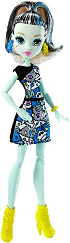 Monster High Mattel DMD46 - Frankie, Ankleidepuppen (Puppen Monster High)