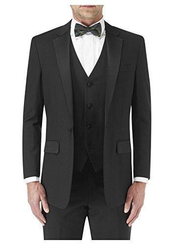 SKOPES Wollmischung Latimer Abendanzug Jacke in schwarz größen 34 bis 62 S/R/L - Herren, Schwarz, 54 Lang