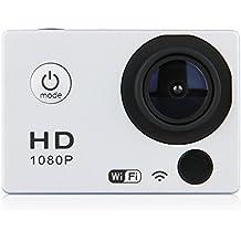 COOLER®-Videocámara de Acción SJ4000 - 12MP, HD, 1080P, Gran Angular, Sumergible hasta 32m, Incluye múltiples accesorios (gris)
