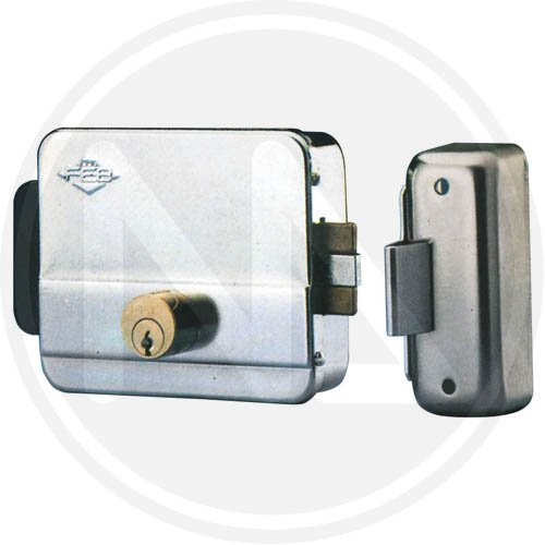Serratura Elettrica da Applicare Feb art. 5011 1Z per Porte e Cancelli