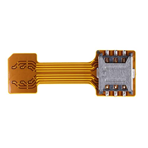 JERKKY Hybrid Doppel-Dual-SIM-Karte Micro SD-Adapter für Android-Handy-Extender Nano Mic Nano bis Nano