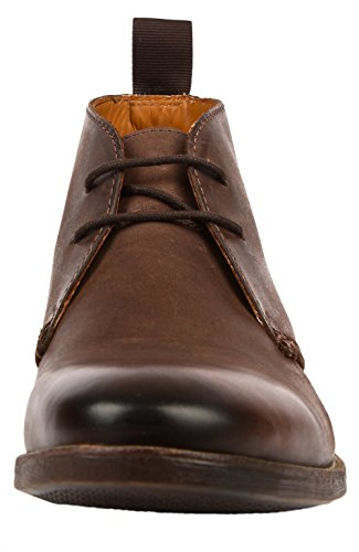 Clarks Novato Mid, Boots homme Marron (Brown Leather)