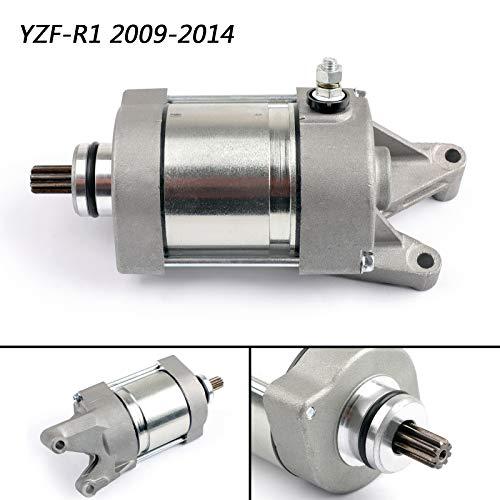 Artudatech Moto Motorini di Avviamento, Motorino di Avviamento Motore Starter Motor per Yamaha YZF R1 R1 2009-2014 2012 14B-81890-00
