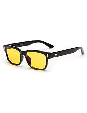 Rnow Yellow Tinted occhiali da sole per affaticamento occhi da computer perfetti per gaming, occhiali anti abbagliamento...