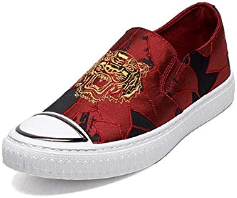 MYI Zapatos de Hombre Canvas Nubuck Cuero Primavera Comfort Zapatillas Zapatos Para Caminar Al Aire Libre Informal...