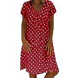 Fannyfuny Vestido De Fiesta para Bodas Talla Grandes Vestidos Playa Mujer Vestidos Casuales Vestido Midi Vestido Verano Vestidos Mujer Vestido