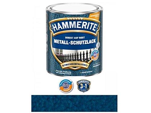 Preisvergleich Produktbild 750 ml Hammerite Direkt auf Rost Metall-Schutzlack Dunkelblau, Hammerschlag