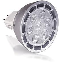BriTools Lámpara LED Dicroica GU5.3, 7 W, Luz Fría 6500K