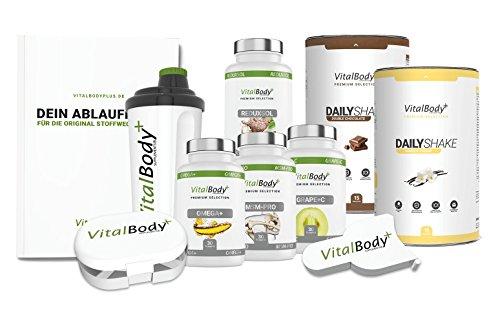 ORIGINAL Apotheken Stoffwechselkur • 30 Tage Stoffwechseldiät • detaillierter Ablaufplan + Rezepte für eine HCG Diät • professionelle Ernährungsberatung • Deutsche Premium Qualität!
