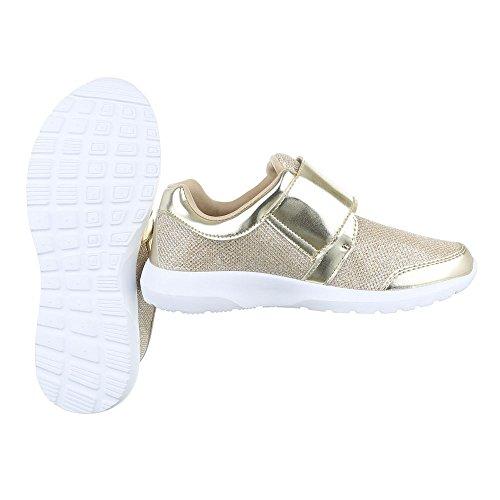 Ital-Design - Sneaker Donna , Multicolore (Nero/Multicolore), 40