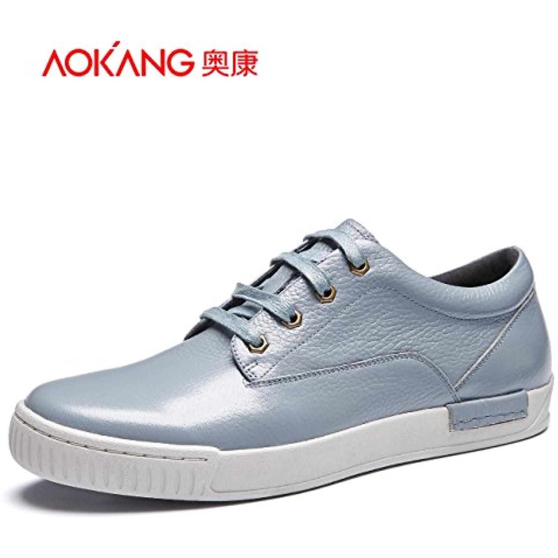 Aemember Automne Chaussures de de Chaussures loisirs quotidiens, faible usure Chaussures légères Chaussures hommes gris bleu... - B0798LKNVJ - 126bfa