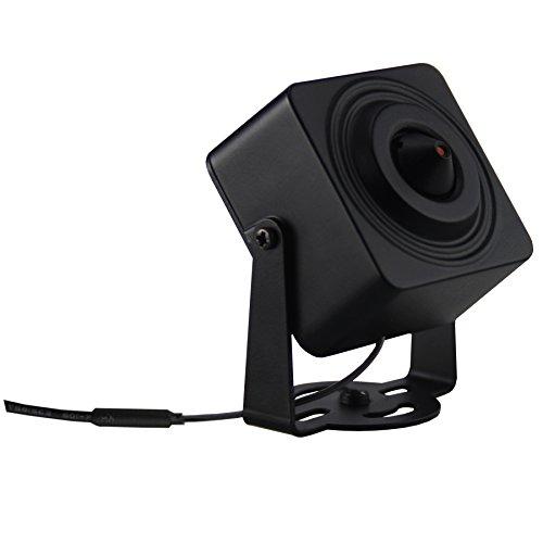 Cantonk KHKSL200W - Mini Kamera IP WLAN, Full HD 1080p (2.0 Megapixel), Blickwinkel 73°, microSD, H.265, H.264, ONVIF -