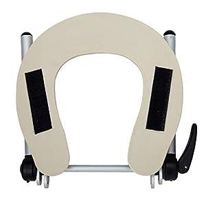 TEHWDE Massage-Liegen, Massage Set, Verstellbare Kopfstütze Gesichtsstütze Exclusive aus Aluminium, Kopfteil für Massageliegen, Hochwertige Verarbeitung Massagezubehör