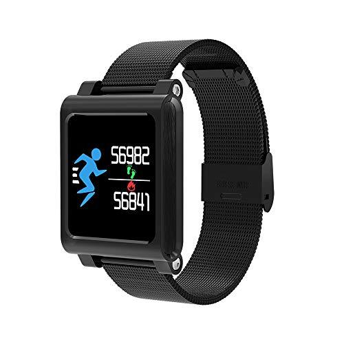 Fitness Armband mit Pulsmesser, BZLine Fitness Tracker Farbbildschirm Aktivitätstracker Schrittzähler Uhr Damen elegant Fitnessarmband mit Herzfrequenz Fitness Uhr mit Schrittzähler fur iOS Android