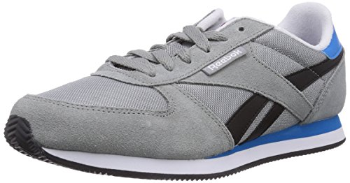 Reebok Royal Classic Jogger, Running Entrainement Adulte Mixte Gris (Flat Grey/Black/Energy Blue/White/Collegiate Royal)