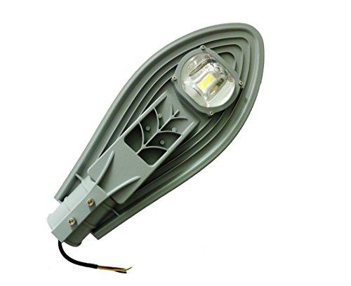 HLT 50 Watt LED Light Street Route cour extérieure d'appareils d'éclairage Blanc Chaud 85-265V Lampe pour Chemin Jardin Terrasse Patio Allé Mur [Classe énergétique A ++]