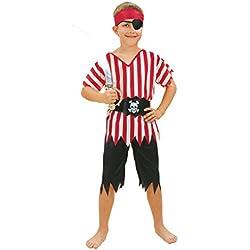 Disfraz de pirata de alta mar para niño, (3-5 años)