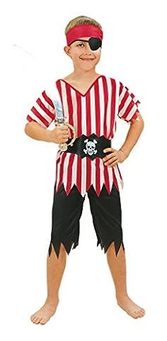 Piratenkostüm Kinder Kinderkostüm Seeräuberkostüm Piraten Kostüm Gr. 10 - 13 Jahre (Piraten Ideen Kostüme)