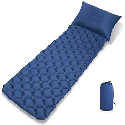 Direct Camping Isomatte Kleines Packmaß - Ultraleichte Aufblasbare Isomatte - Sleeping Pad für Camping, Reise, Outdoor, Wandern, Strand,Luftmatratze Isomatte Rutschfes
