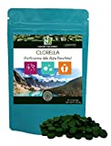 """Clorella / 90 Compresse da 505mg / NAKURU Equilibrio/Polvere organica secca e compressa a freddo/Analizzata e condizionata in Francia /""""Purificazione delle Alghe Benefiche!"""""""