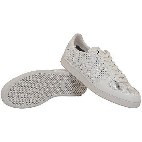 Armani Jeans Cup Sole Ii Uomo Sneaker Bianco