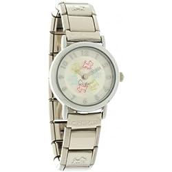 Chipie-5206010-Mädchen Armbanduhr Analog-Zifferblatt Armband Metall silber