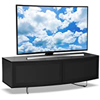 Centurion Supporta TV / OLED / LCD Caru Gloss Black fascio-Thru a distanza