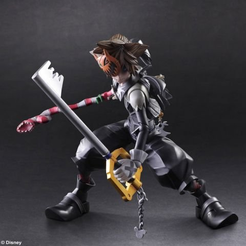 Kingdom Hearts II Play Arts Kai Sora Halloween Town Ver. Action-Figur