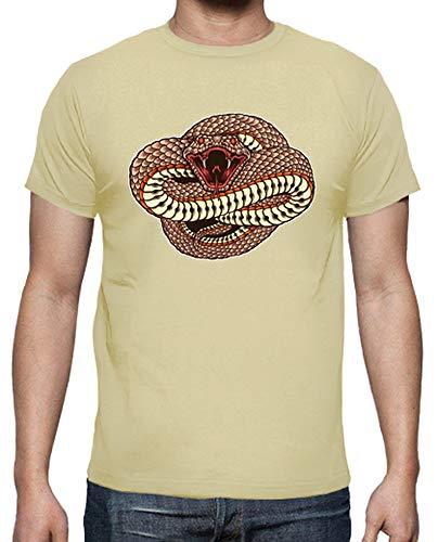 tostadora - T-Shirt Wild und Gefahrlich - Manner Creme M