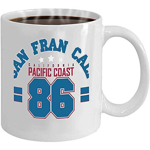 Taza de café divertida, regalos de novedad, taza de té de cerámica, taza de porcelana, regalo, atrapasueños, plumas abstractas, estilo étnico, Colore, 11 oz, taza de desayuno blanca