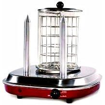 Simeo FC 465 - Maquina de perritos calientes, 450 W, color rojo
