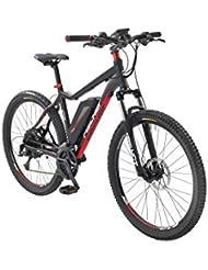FISCHER FAHRRAEDER E-Bike Mountainbike EM 1608, 27,5 Zoll, 24 Gang, Heckmotor, 418 Wh 70 cm (27,5 Zoll)