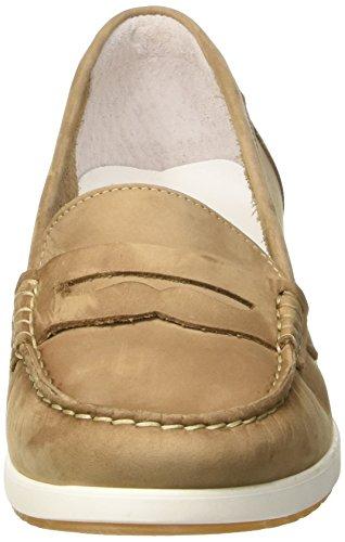 MELLUSO 01020, Mocassins (Loafers) Femme Beige (Tortora)