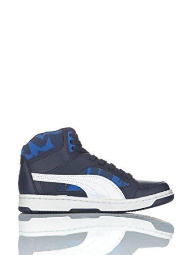 Puma Rebond Camo Jr Baskets Montantes Neuf Chaus. Bleu