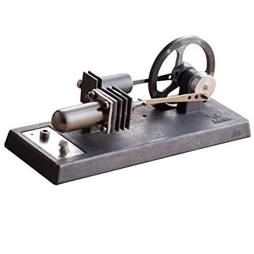 0Miaxudh Stirlingmotor-Modell, Heißluft Stirlingmotor-Modell Stromgenerator Motor Dampf Power Physik Spielzeug