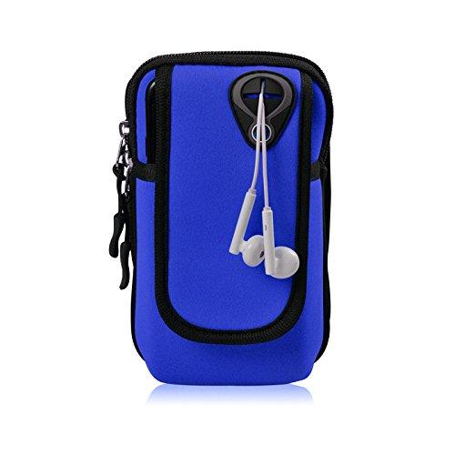 Bawar Armtasche Sport Armband Hülle Arm Tasche Handy Schlüssel Halter Outdoor Rennen Sportarmband