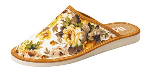 Confort chaussons cuir de lin liege femmes orteil fermés ou ouverts pantoufles tailles 36-41