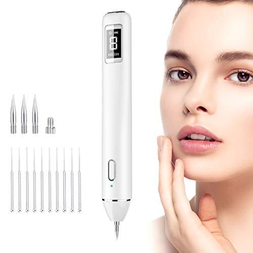 AMINSHAP Pluma de la peca de la Belleza Mini Pluma del Punto del hogar Laser Instrumento de la Belleza 8 Grado de la Intensidad Profesional Plumas de la Belleza para el Cuerpo acné Facial