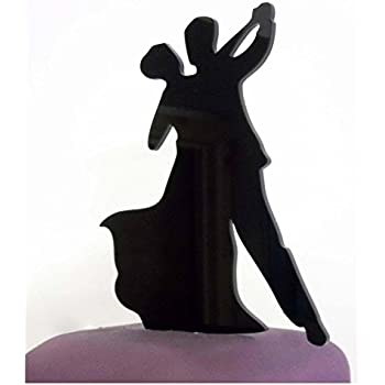dancing couple wedding cake topper ballroom cake topper cake in 13328