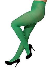 Strumpfhose, grün, Blickdicht, 70D L-XL