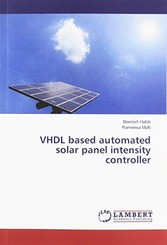 VHDL based automated solar panel intensity controller Electronic-outlet-panel