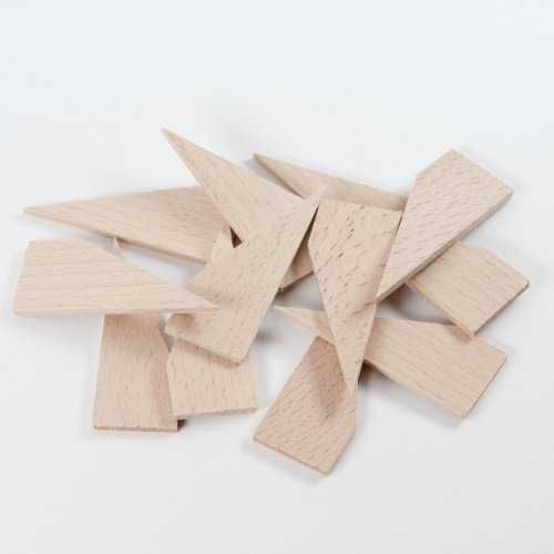 Preisvergleich Produktbild Keile, Holzkeile für Keilrahmen, Hartholz, 3mm Stärke