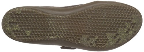 El Naturalista Bee Damen Mary Jane Halbschuhe Braun (Brown)