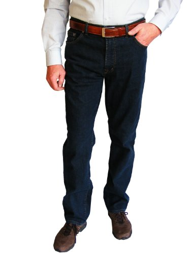 Preisvergleich Produktbild Jeans Pierre Cardin blue / black 161-02 deutsche Übergrößen,  Gr. 34