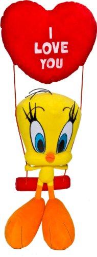 Joy Toy Looney Tunes 233357 - Titti sull'Altalena Peluche, 32 cm/55 cm